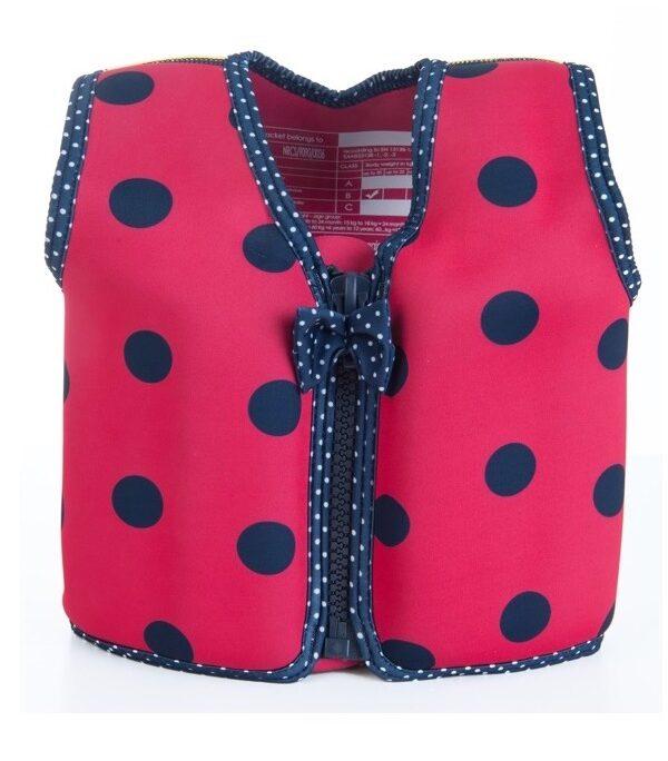 konfidence ladybug pink