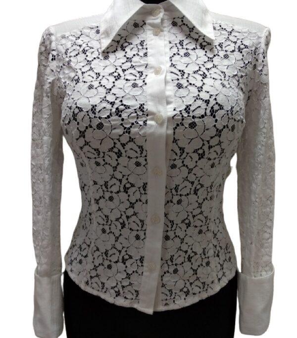 balti marškiniai dora marrachi