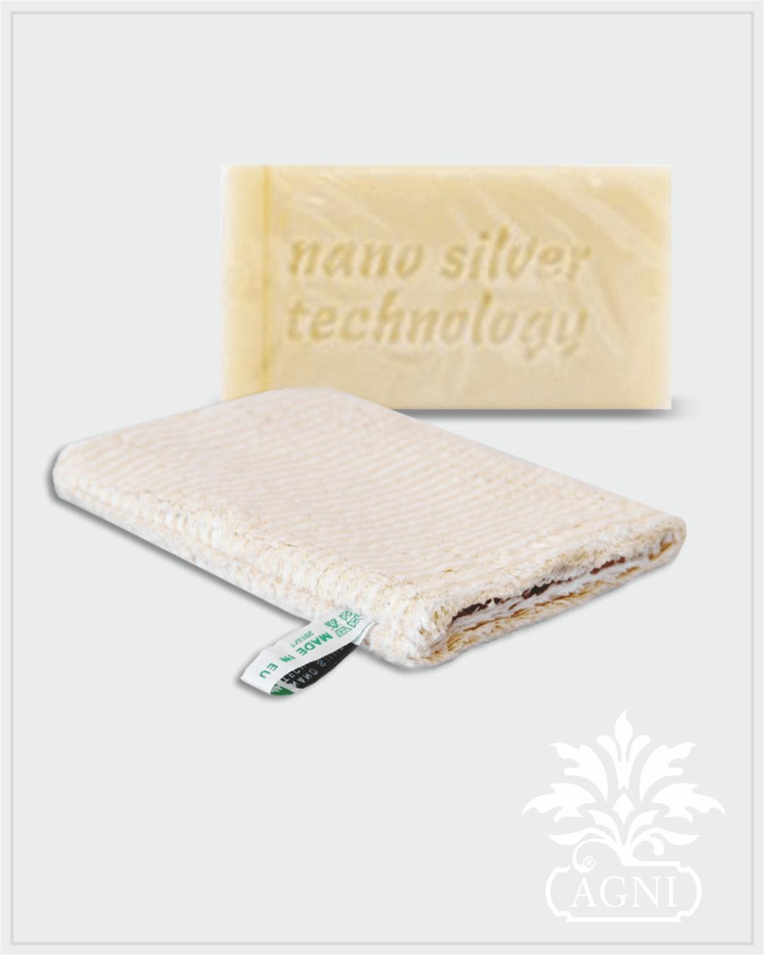 Raypath nano silver rinkinys su natūraliu muilu ir KREMINE šluoste – pirštine valymui drėgnu būdu