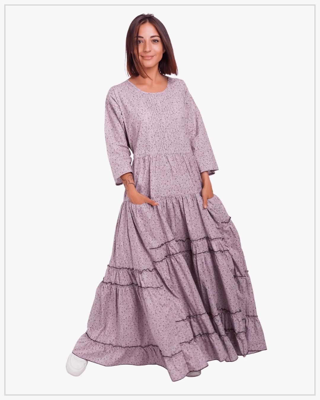 SHTAPEL viskozės suknelė 10623