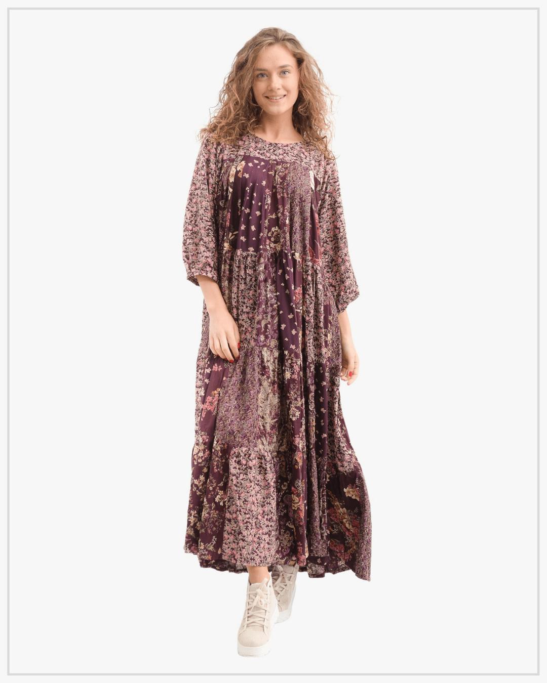 SHTAPEL viskozės suknelė 11026