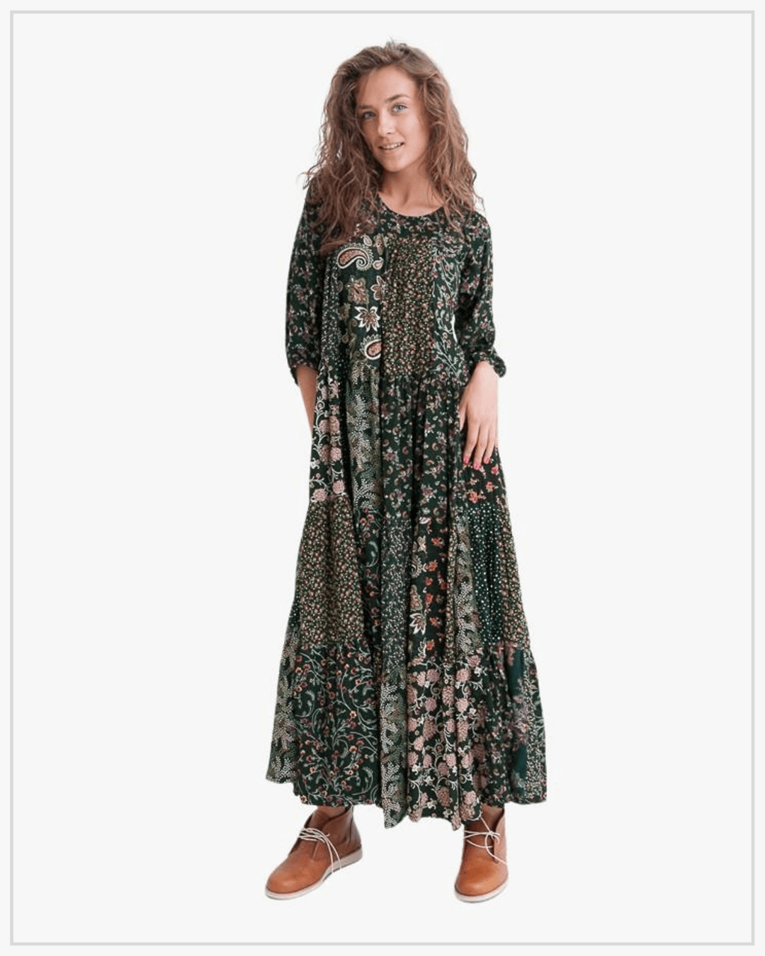 SHTAPEL viskozės suknelė 11029