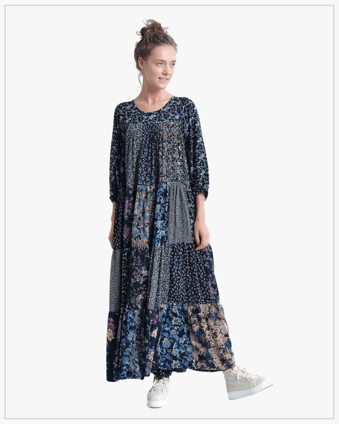 SHTAPEL viskozės suknelė 11033