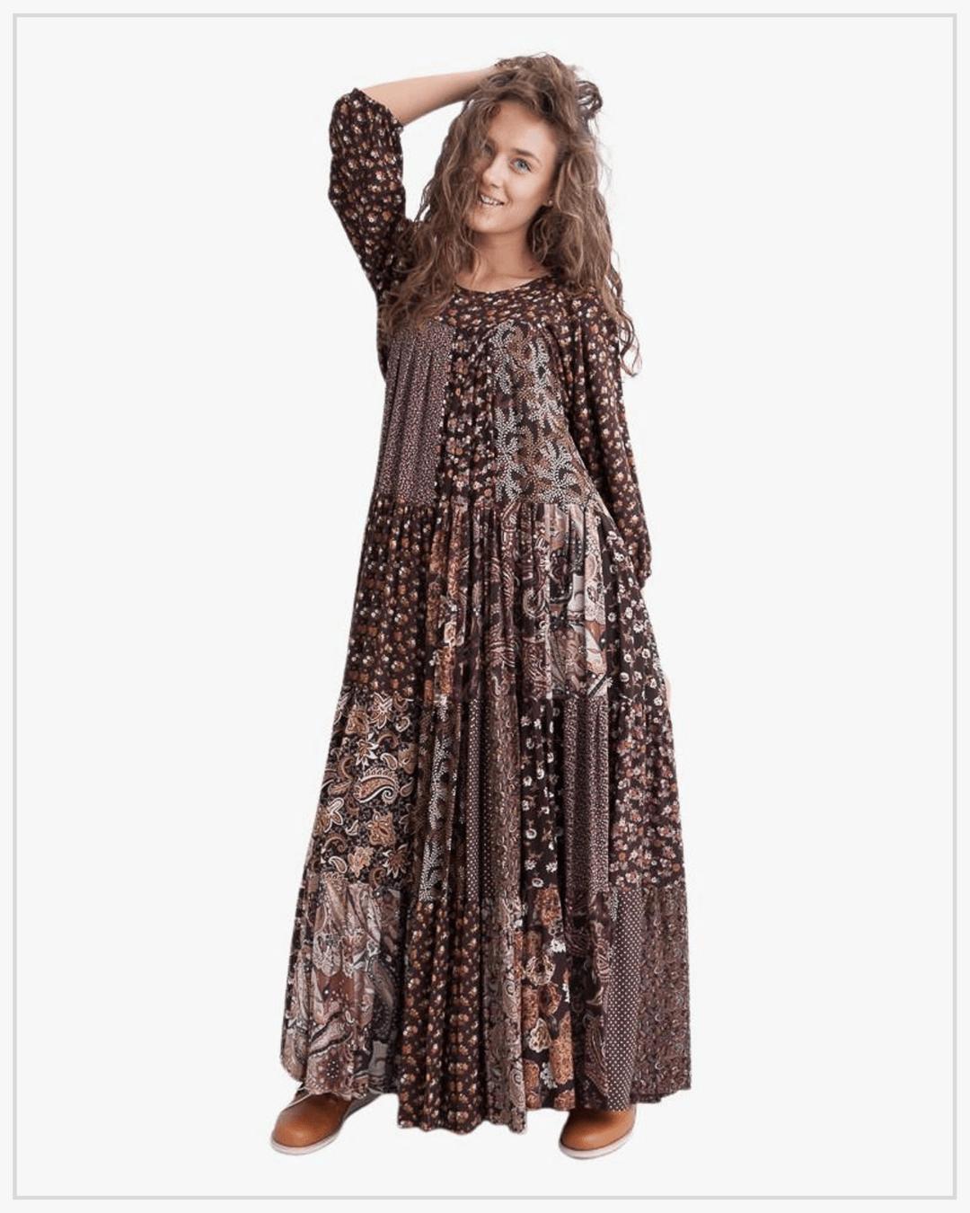 SHTAPEL viskozės suknelė 11038