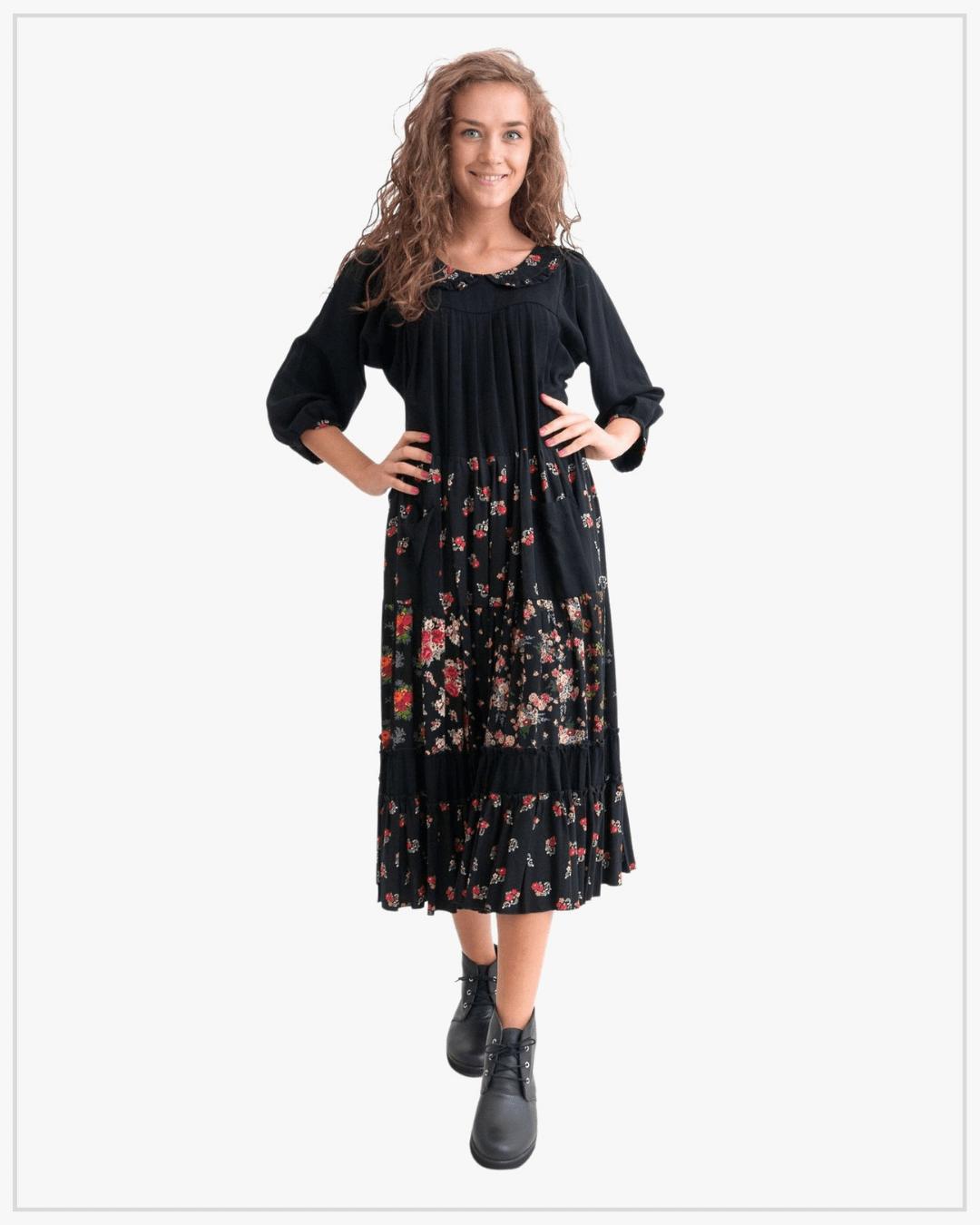 SHTAPEL viskozės suknelė 11041
