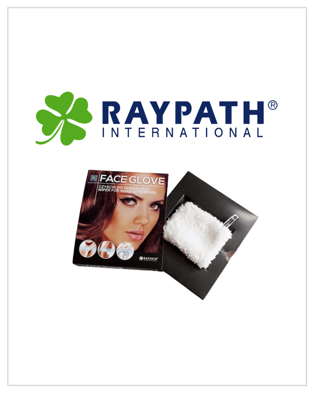 Raypath produktai veidui ir kūnui