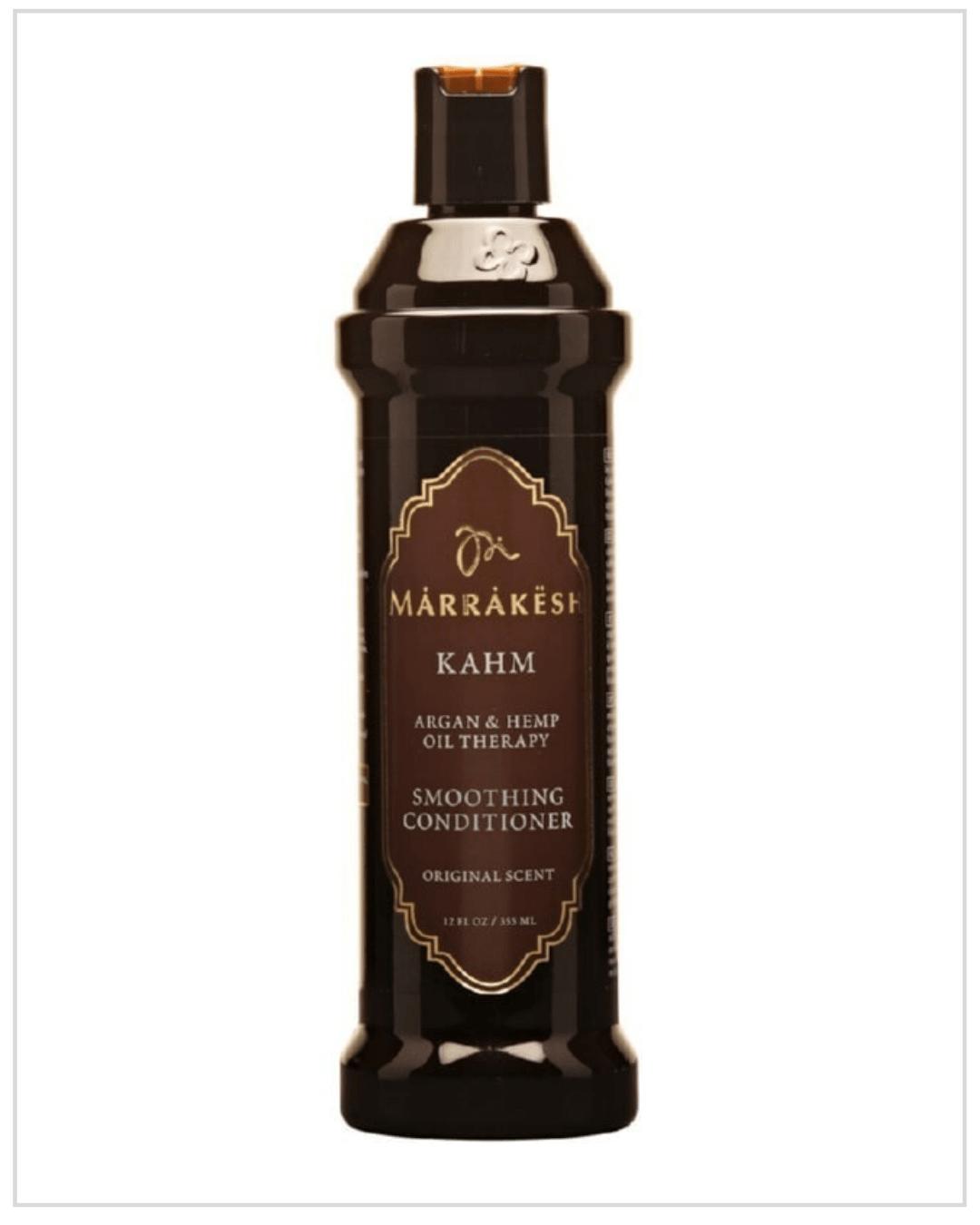 Kondicionierius tiesinantis ir glotninantis plaukus Marrakesh KAHM Smoothing Conditioner Original Scent