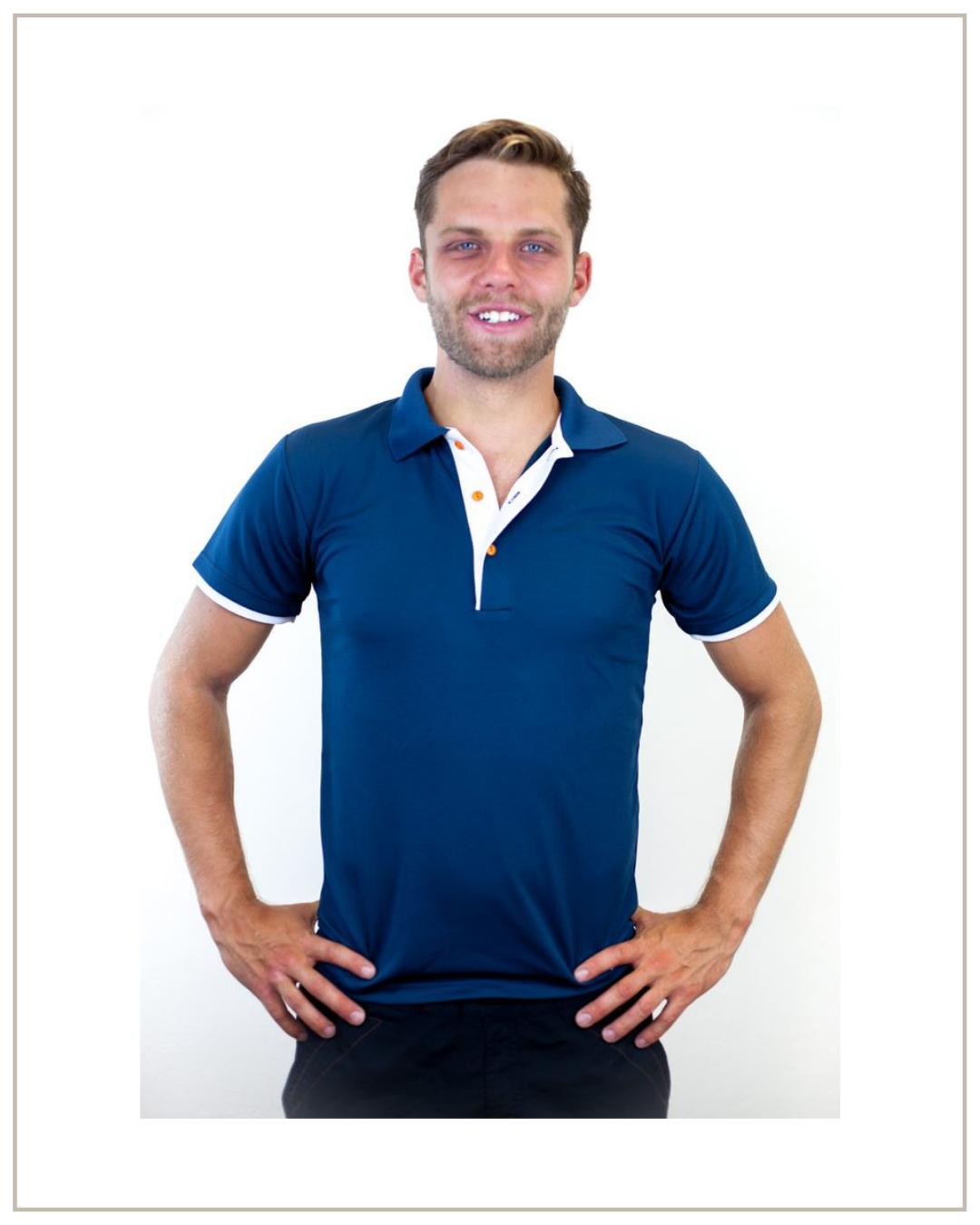 Nano Silver vyriški Polo marškinėliai
