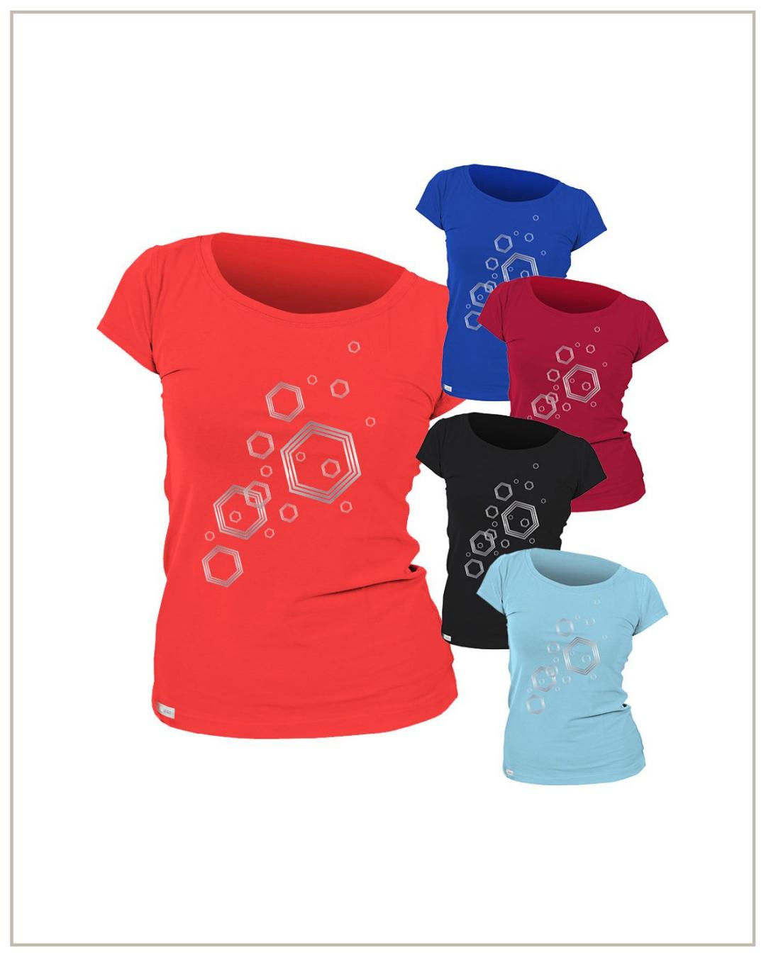Nano Silver moteriški marškinėliai