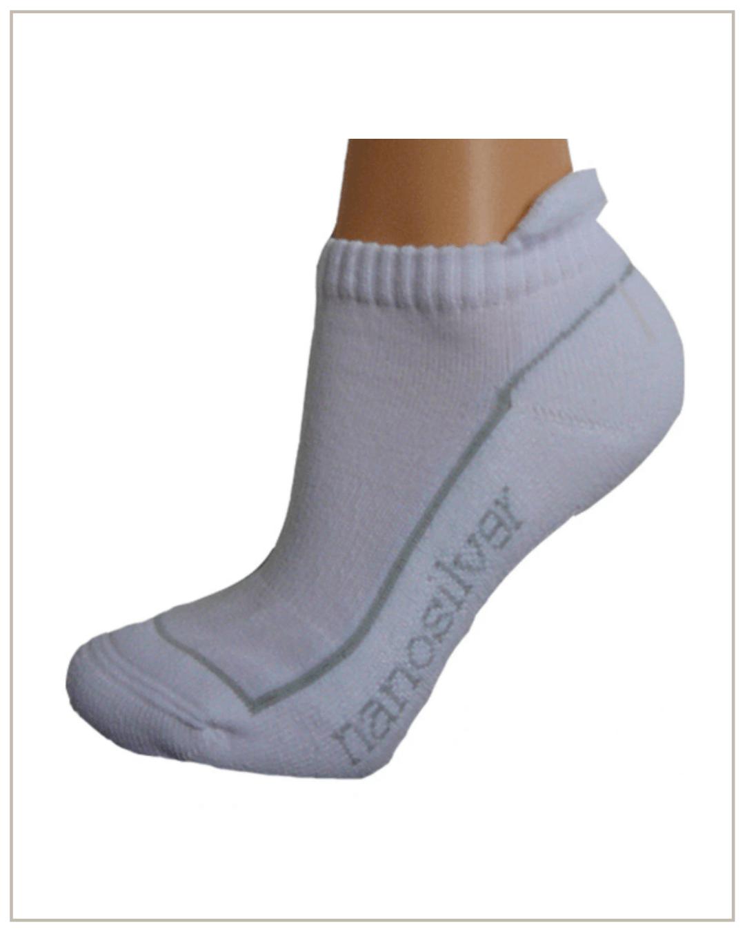 Nano Silver trumpos kojinaitės su antkeliu