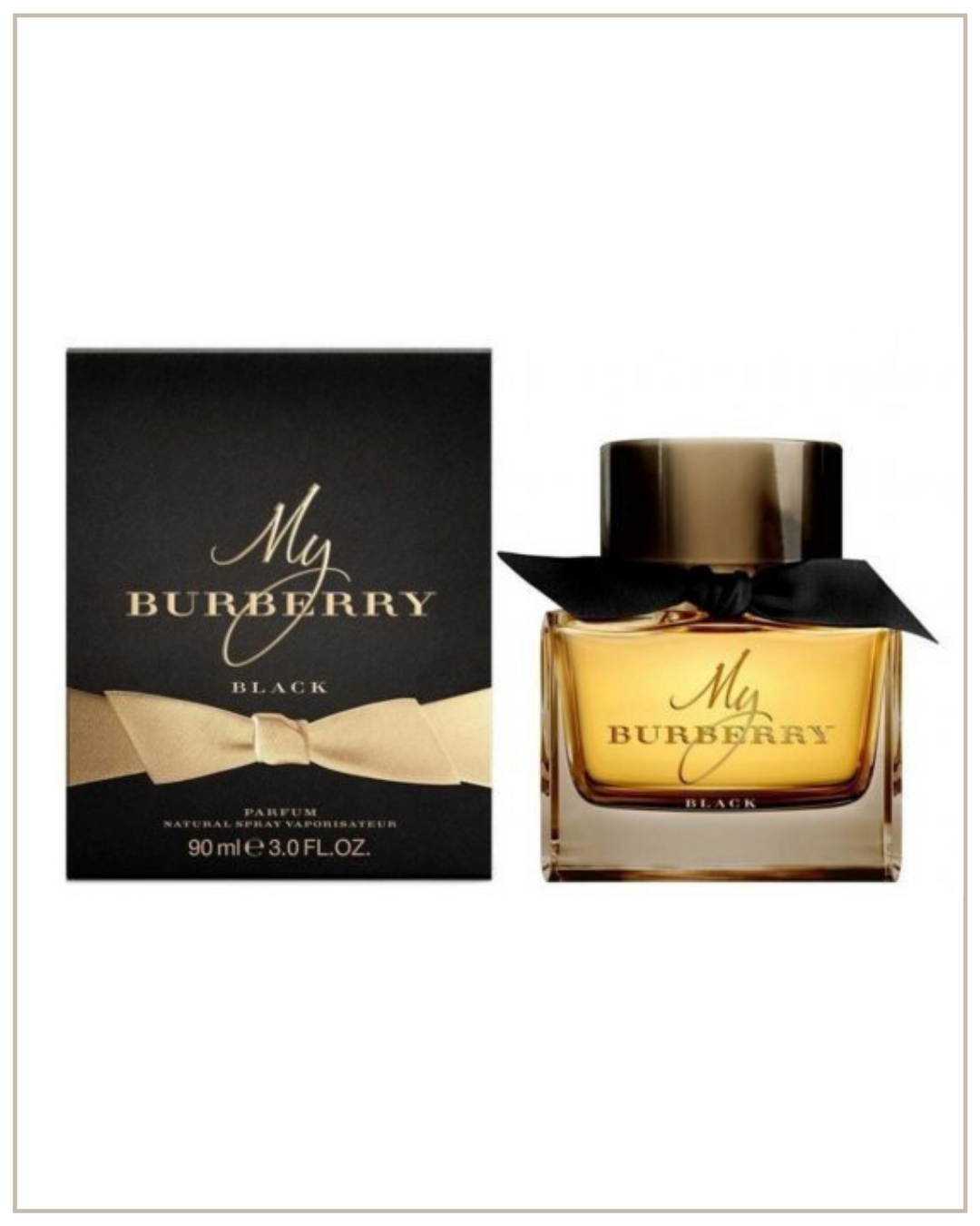 Burberry My Burberry Black Parfum EDP kvepalai moterims, 30ml