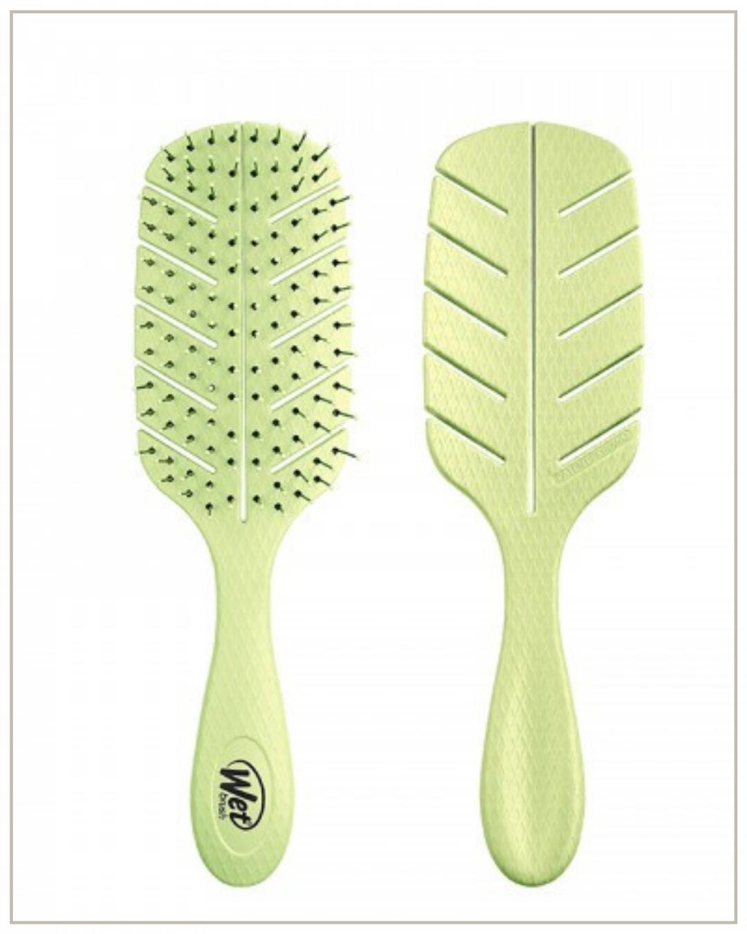 Wetbrush go green detangler green biologiškai suyrantis plaukų šepetys