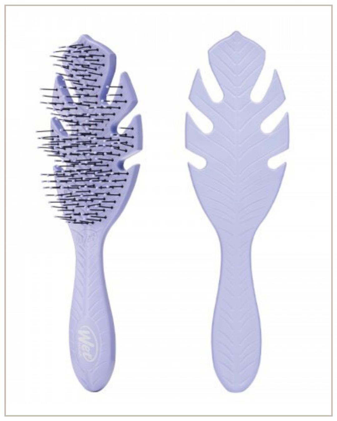 Wetbrush go green detangler lavendar biologiškai suyrantis plaukų šepetys