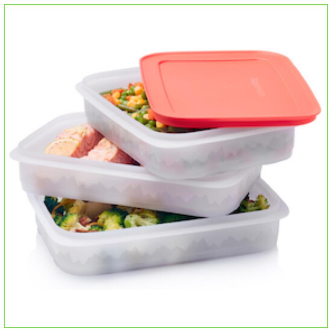 Tupperware Freezer Mates dėžučių rinkinys