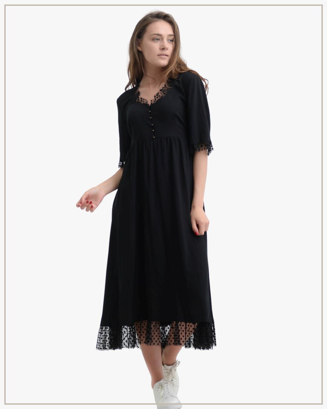 SHTAPEL viskozės suknelė Boho