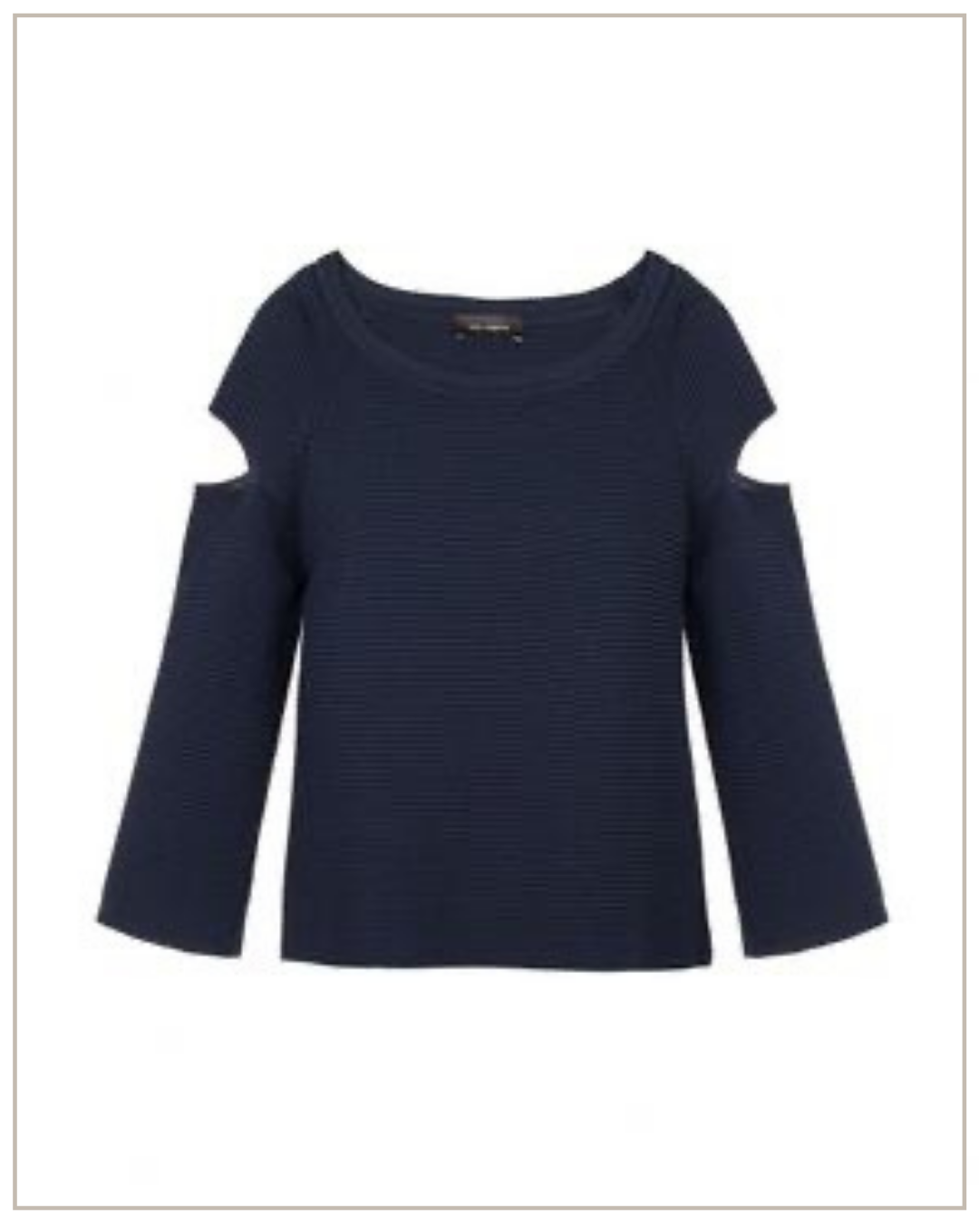 Viskozės megztinis Cop copine