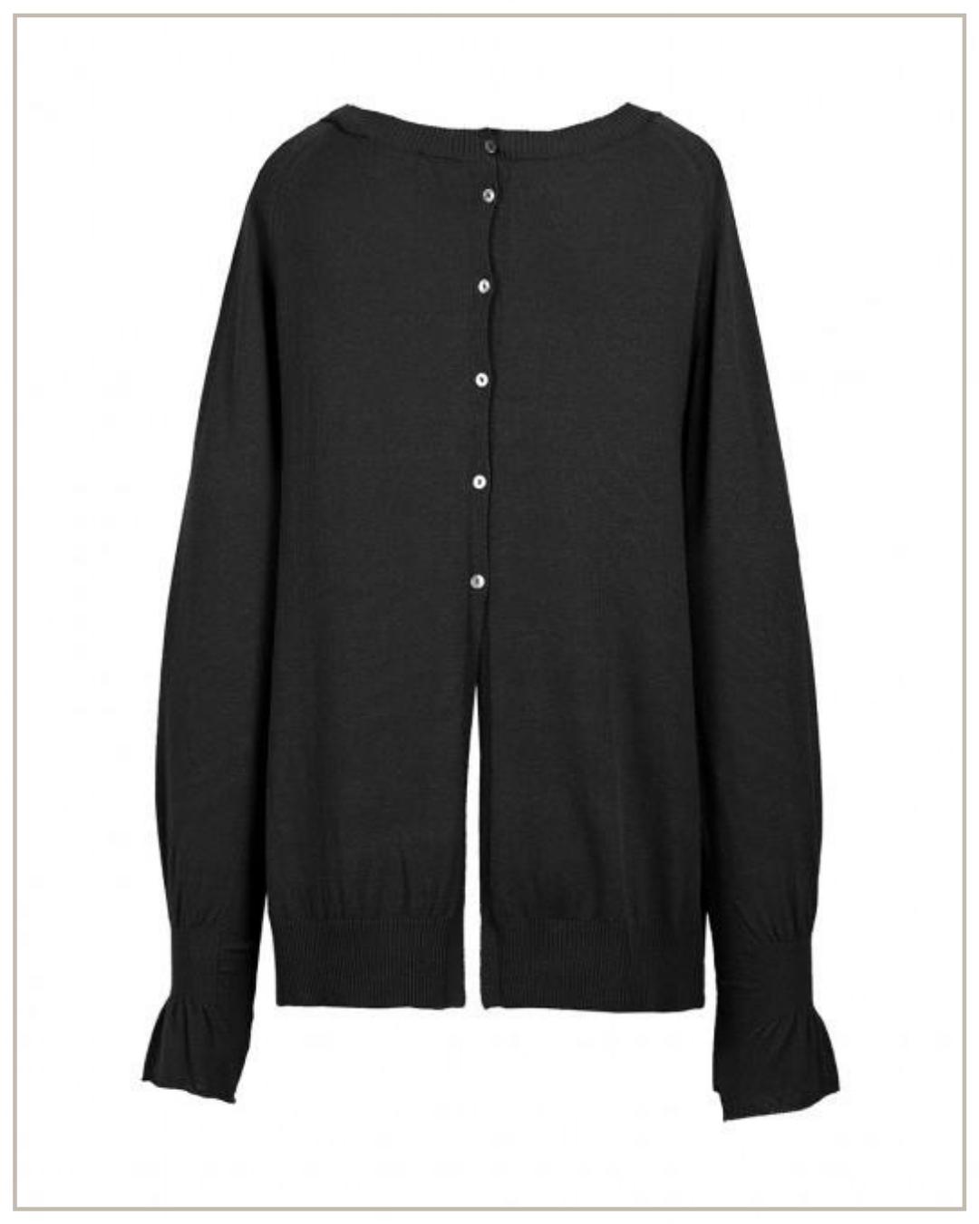 Stilingas viskozės megztinis Cop copine