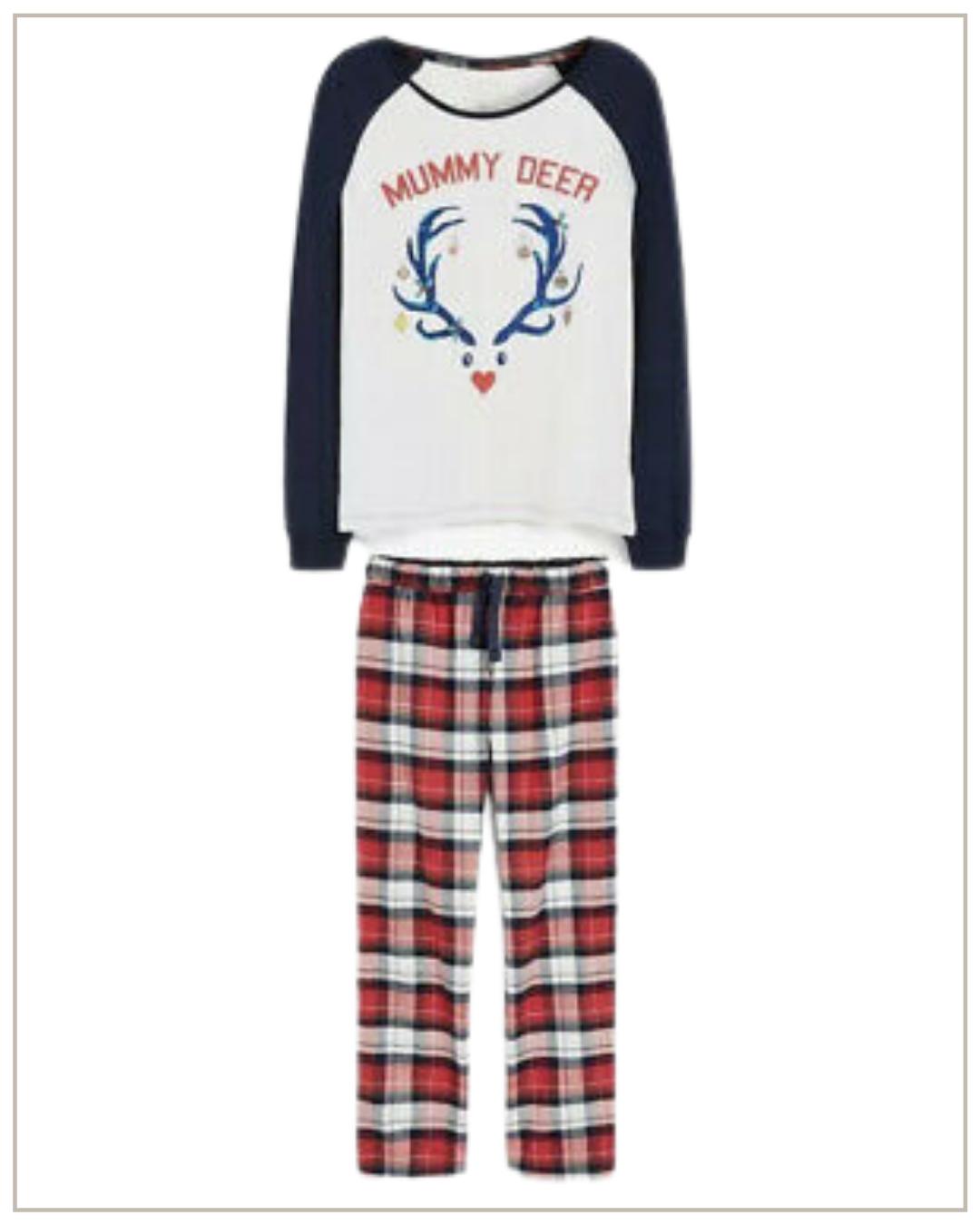 Šventinė medvilnės pižama Next
