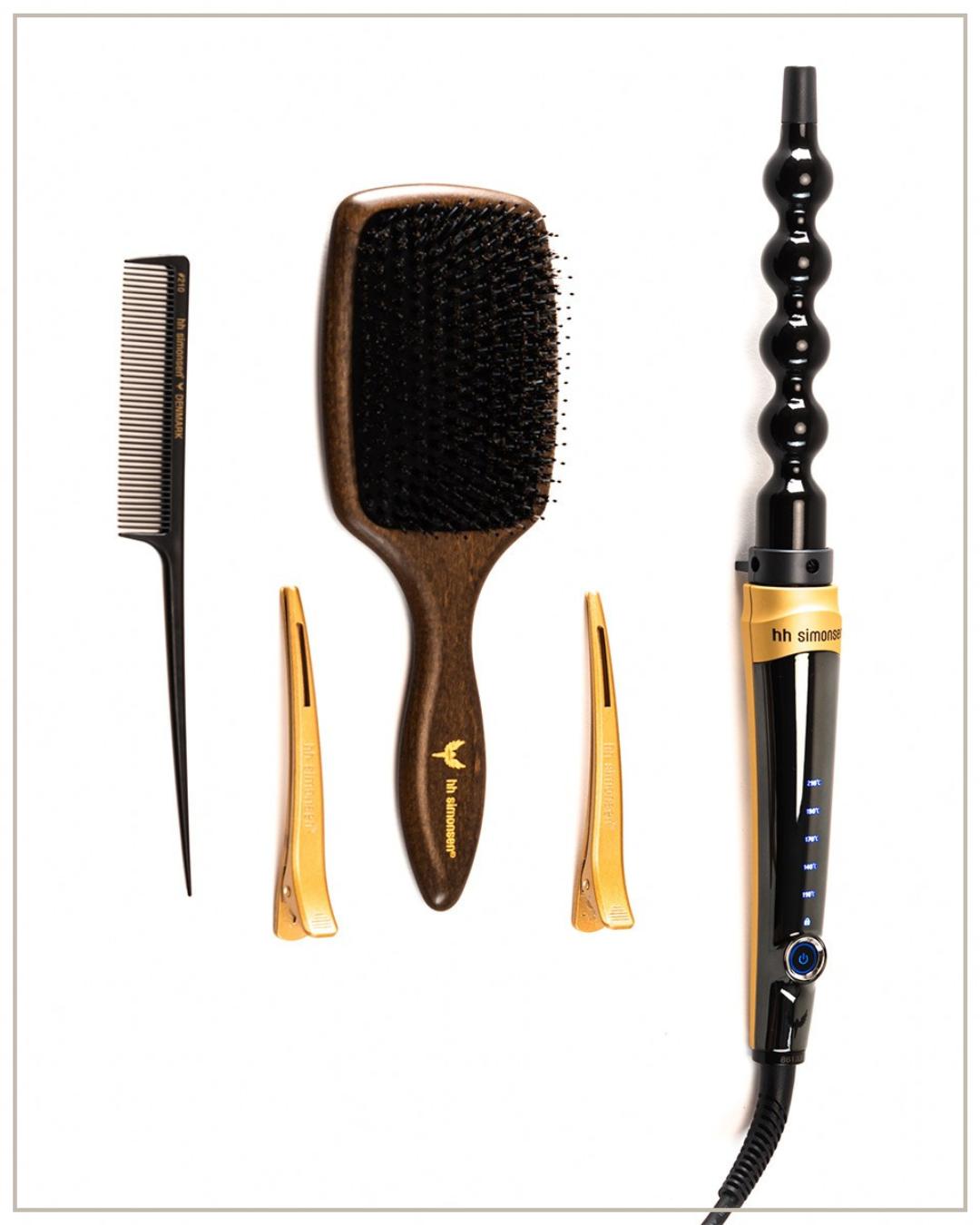 HH Simonsen Rod Vs10 Gold Limited Edition Plaukų garbanojimo įrankis